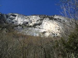 balza dell'aquila sul monte Catria
