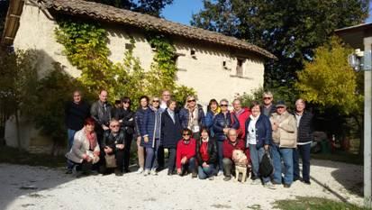 23 ottobre Escursione nella Valcesano (Molino Patregnai e Chiesa di Santa Maria in Portuno)